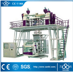 China High speed Three  Layers CPP Plastic Film Blowing Machine (SJ-50*3,60*3 Model) supplier