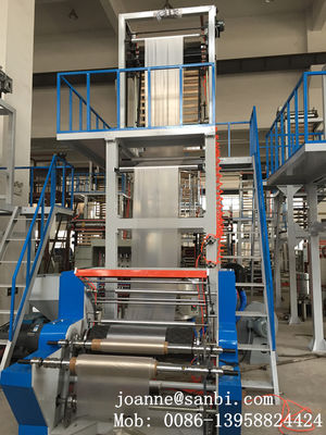 China Noiseless Full Automatic Blown Film Extrusion Machine 380v 50hz supplier