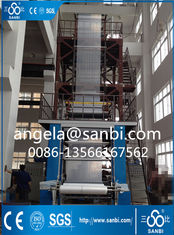 China Plastic Film Blowing Machine PE Film Blowing Machine White Blue supplier