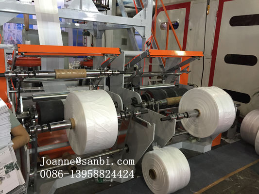 High Capacity Double Head  High Speed Film Blowing Machine 60-80kgs