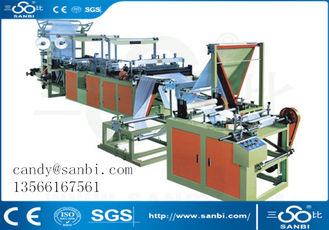 China Plastic Film Garbage Bag Making Machine Bag Making Equipment supplier