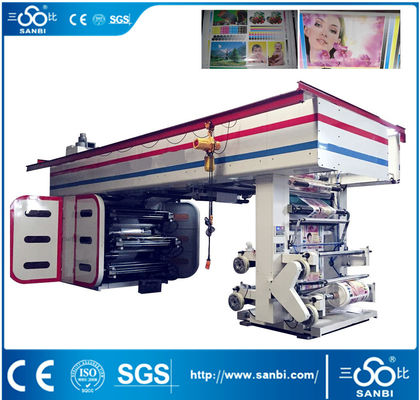 China High Speed Central Impression Auto Printing Machine For 6 Colors supplier