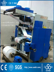 China 2 Color 600 / 800 / 1000 Mm Flexographic Printing Machine 50m/Min supplier