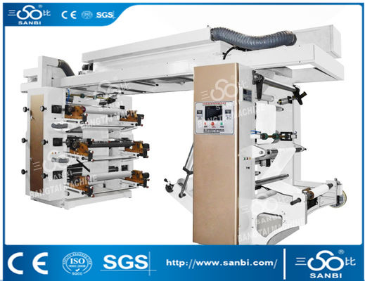 China Economic Central Drum Flexographic Printing Machine Electrical Method supplier