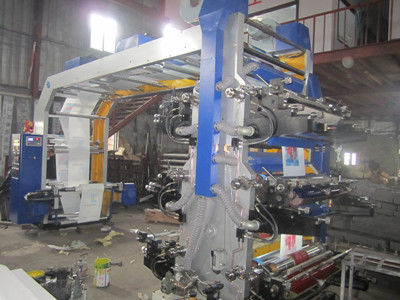 China Computer Flexographic Printing Machine For Glass Paper / Handbag / Plastic Film supplier
