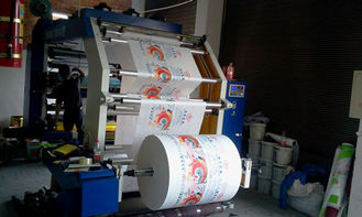 China High Speed Flexographic Printing Machine For Non Woven Fabrics / Plastic Bag supplier