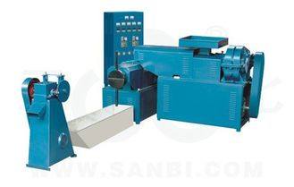 China Electric Control Plastic Recycling Machine Dry Wet Plastic Grain making machine supplier