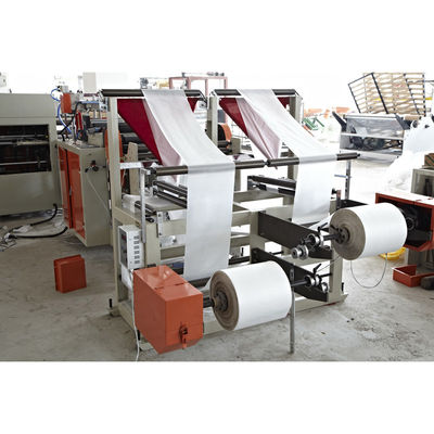 China Full Automatic coreless rolling bag making machine for garbage bag supplier