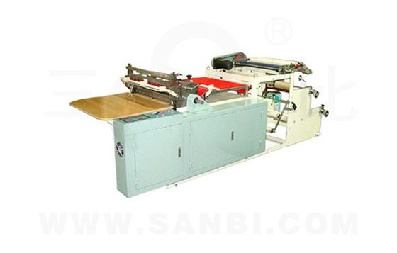 China Computer Control Transverse Slicing Slitting Equipment , label rewinder machine supplier