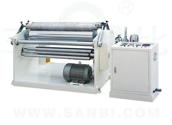 China Automatic Slitting Rewinding Machine Surface Rolling for Garbage Bag supplier