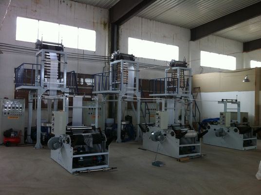 China Rotary Die PE Film Blowing Machine Automatic Blown film equipment supplier