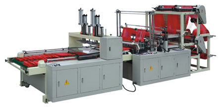 China Full Automatic four lines nylon bag making machine for shopping Bag supplier