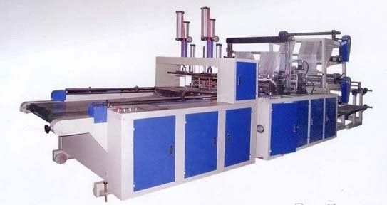 China Four Lines Automatic Bag Making Machine Computer Control supplier