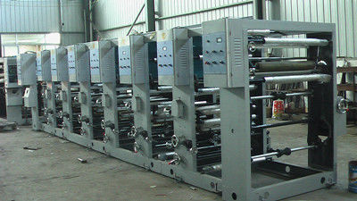 China Automatic Continuous Gravure Printing Machine , Plastic Printing Press supplier