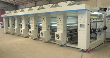 China Computer 6 Color Gravure Printing Machine For PP PET OPP Plastic Bag supplier