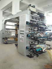 China Automatic 6 Color Flexographic Printing Machine With Hydraulic Roller supplier
