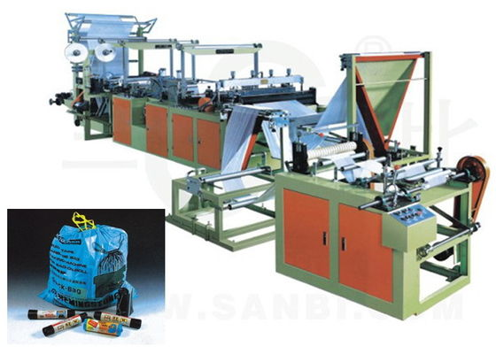 China Automatic Ribbon Through garbage bag making machine With CE ISO SGS TUV supplier