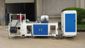 China Auto Plastic Flat Bag Making Equipment With Heat Sealing Device supplier