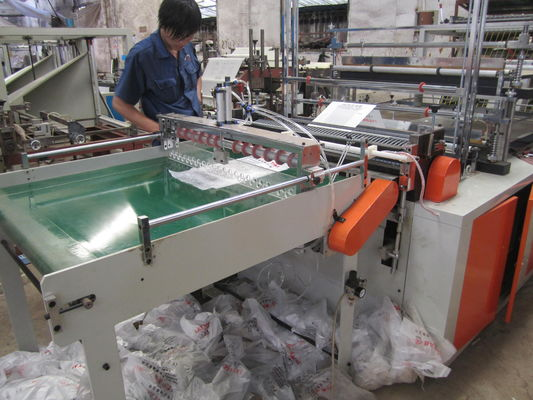 China Computer Heat Sealing cold cutting bag making machine With CE ISO supplier