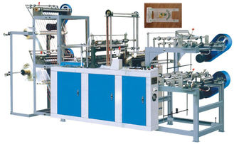 China Cold Cutting Bag On Roll Making Machine 240-400 PC / min Full Automatic supplier