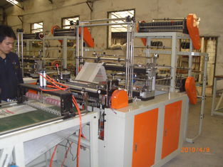 China Two Layers Cold Cutting Plastic Bag Making Machine for Shopping Bag supplier