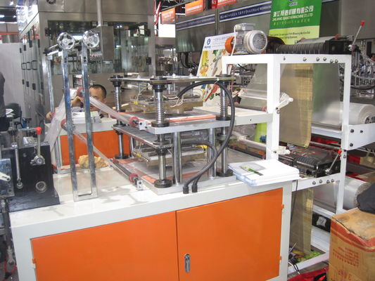 China Double Layers PE Glove Making Machine supplier