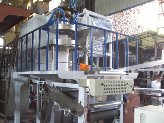 China High Speed PP Film Blowing Machine Automatic Extrusion Plastic Recycling Line supplier