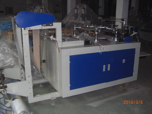 China 3KW Automatic Plastic Glove Making Machine , Bag sealing cutting equipment supplier