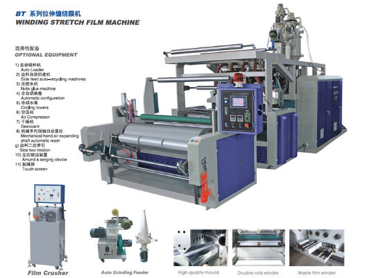 China Automatic PE Film Extrusion Equipment supplier