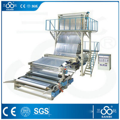 China High Speed Plastic Extrusion Blowing Machine For Agricultural Packing Film supplier