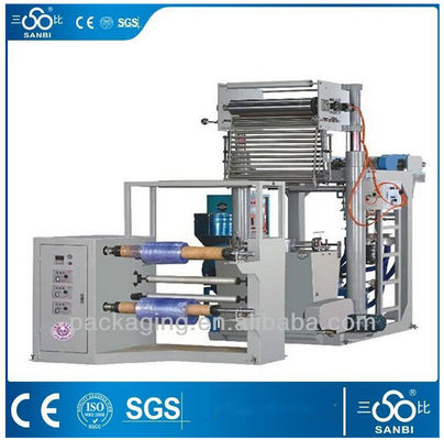 China Plastic Film making machine Extrusion blow molding machine With CE ISO supplier