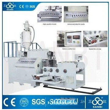 China Single Layer Stretch Film Making Machine , HDPE LDPE Film Blowing Machine supplier