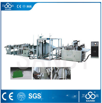 China Polythene Non woven Bag making machine vertically / horizontally sealing supplier