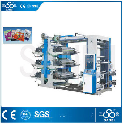 China HDPE Bag Printing Machine Flexographic Press With Edge position controller supplier
