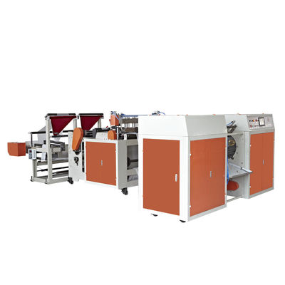 China HDPE Full Automatic Plastic Bag Making Machine For Thickness 0.008-0.02MM supplier