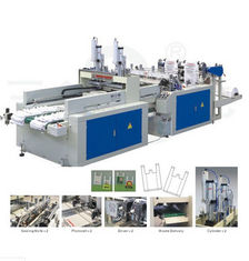 China High Speed T-shirt Bag Making Machine Full Automatic with PLC control supplier