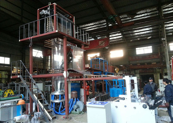 China PE Greenhouse Plastic Blown Film Extrusion Machine For Single Layer supplier