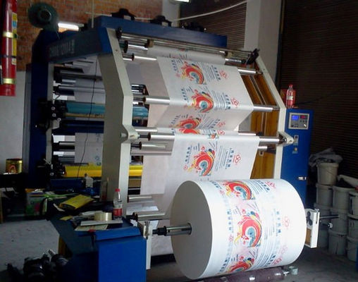 China Low Noise Flexographic Printing Machine EDGE Position Control supplier