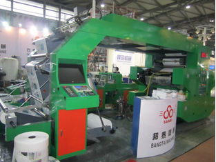 China HRT 4600 High Speed Flexographic Printing Machine With Double Side Closed Doctor Blades supplier