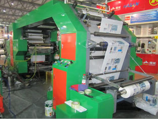 HRT 4600 High Speed Flexographic Printing Machine With Double Side Closed Doctor Blades