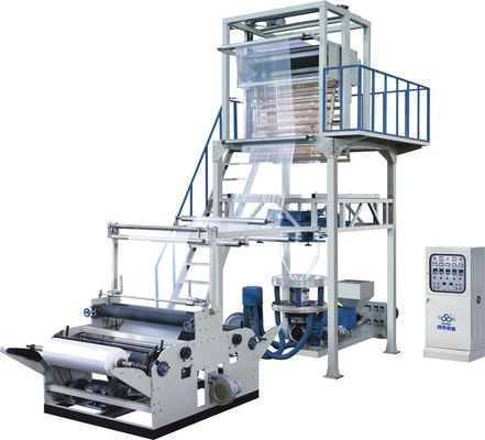 China Low Density PE Film Extrusion Blowing Machine For Shopping Bags supplier