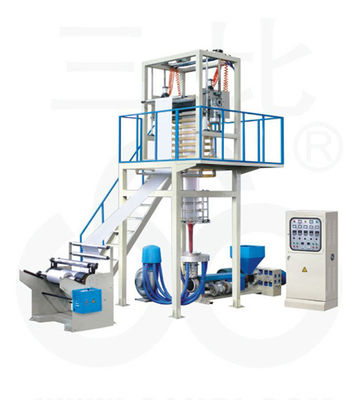 China High Density PE Film Extrusion Blowing Machine For Shopping Bags supplier
