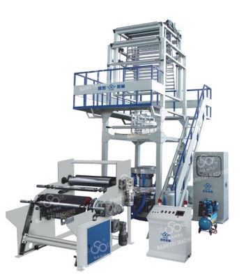 China PE High Speed Film Blowing Machine With automatic winder ( CE) supplier