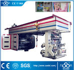 High Speed Central Impression Auto Printing Machine For 6 Colors