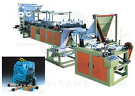 China Automatic Ribbon Through garbage bag making machine With CE ISO SGS TUV factory