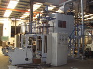 China Double Winder PP Film Blowing Machine Rotary Blown Film Extruder factory