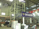 China IBC Inner Multilayer Blown Film Extrusion Machine With Cooling System factory