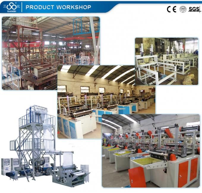 150Kw PE Film Blowing Machine , Extrusion Blow Moulding Equipment