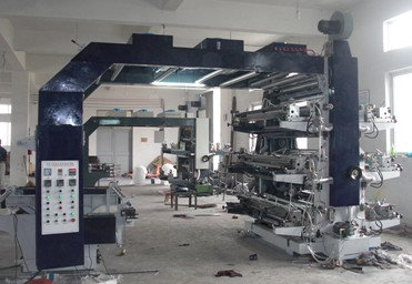 Automatic Flexographic PE PP Bag Printing Machine 6 Colors With CE SGS