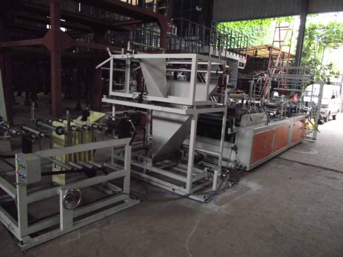 Automatic Ribbon Through garbage bag making machine With CE ISO SGS TUV